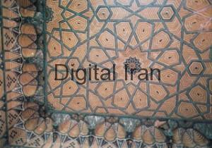مسجد-لرزاده-تهران-_-سقف-شبستان